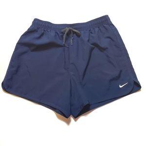 Nike Dri-Fit Blue Running Shorts Size Small